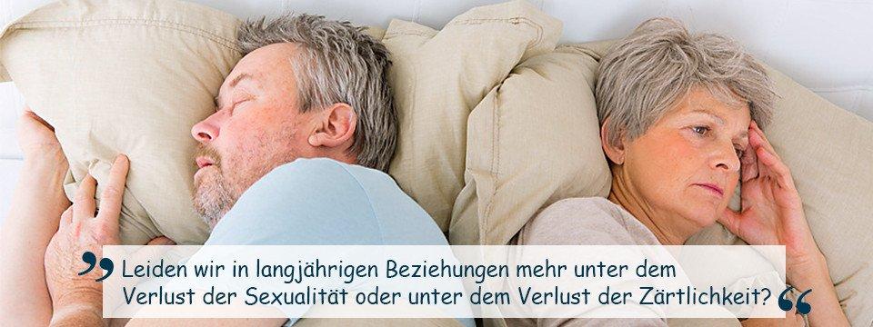 Sexualität und Zärtlichkeit in langjährigen Beziehungen