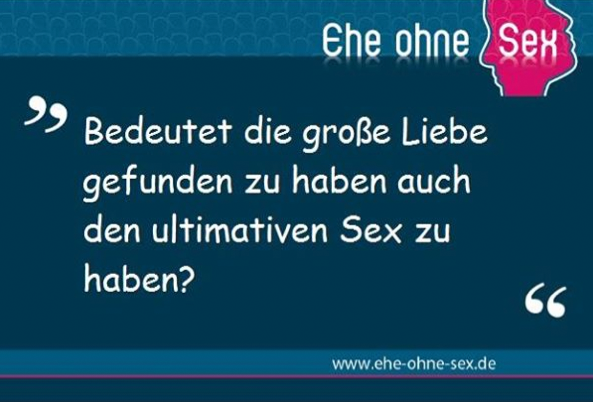 Sex und Liebe